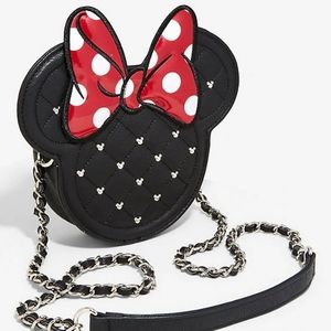 Loungefly minnie mouse crossbody bag